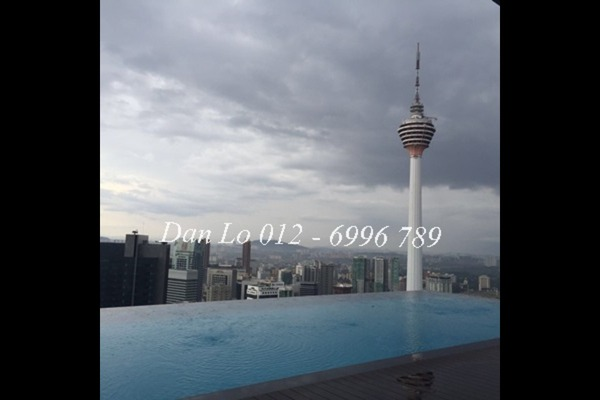 For Rent Condominium at Platinum Suites, KLCC Freehold Fully Furnished 1R/1B 3.8k