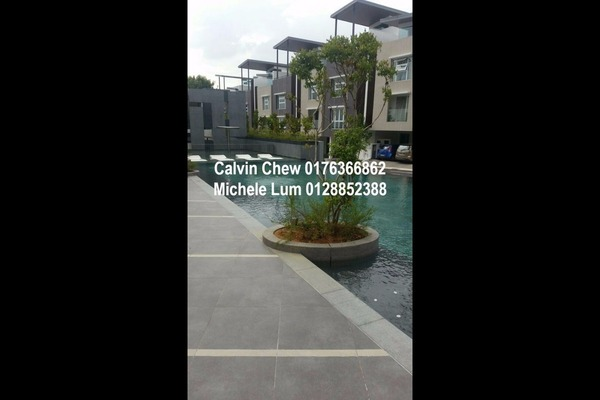 For Sale Terrace at Canary Residence, Cheras Leasehold Unfurnished 5R/3B 1.4m