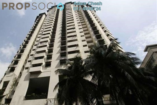 For Rent Condominium at The Vistana Residences, Titiwangsa Freehold Semi Furnished 3R/2B 2.1k