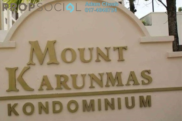 For Rent Condominium at Mount Karunmas, Balakong Leasehold Fully Furnished 3R/2B 1.3k