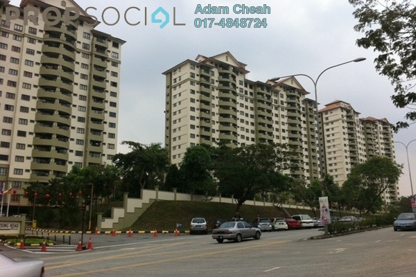 For Rent Condominium at Anjung Hijau, Bukit Jalil Freehold Fully Furnished 2R/2B 1.7k
