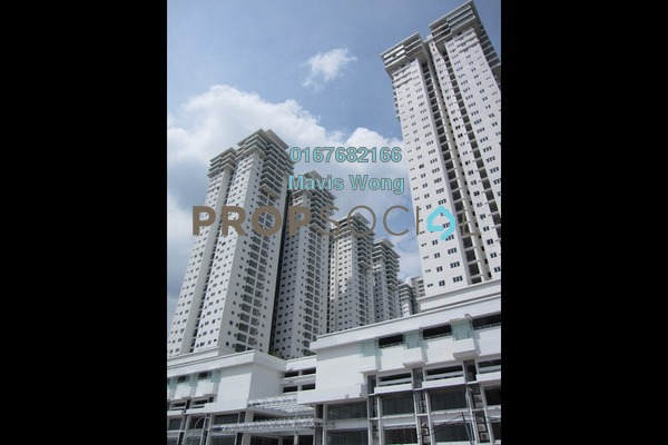 For Rent Condominium at Maxim Citilights, Sentul Leasehold Unfurnished 3R/2B 1.2k