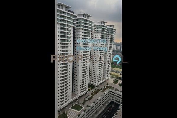For Rent Condominium at Maxim Citilights, Sentul Leasehold Semi Furnished 3R/2B 1.8k