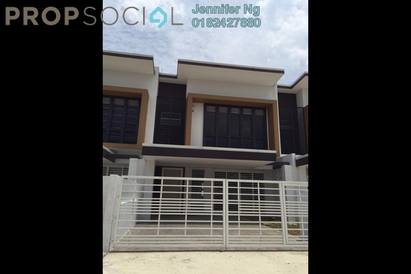 For Sale Terrace at Keana, Elmina Gardens Freehold Semi Furnished 4R/4B 880k