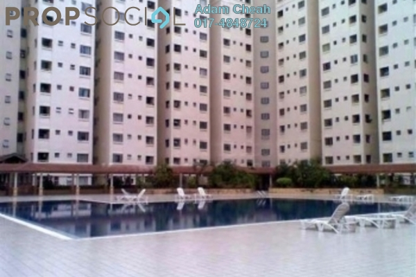 For Rent Condominium at D'Aman Crimson, Ara Damansara Freehold Semi Furnished 3R/2B 1.6千