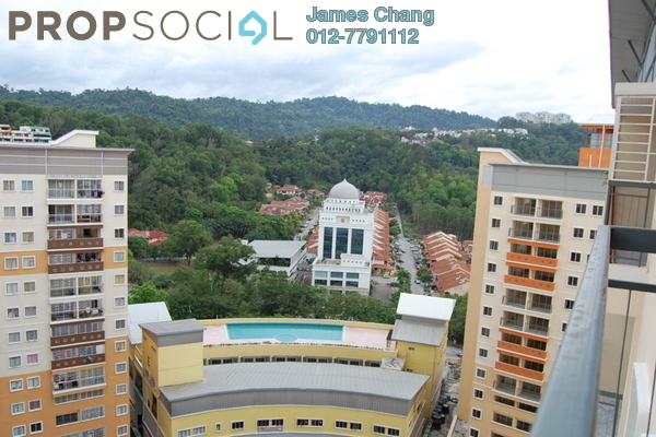 For Sale Apartment at Residensi Bistaria, Ukay Freehold Semi Furnished 3R/2B 285k