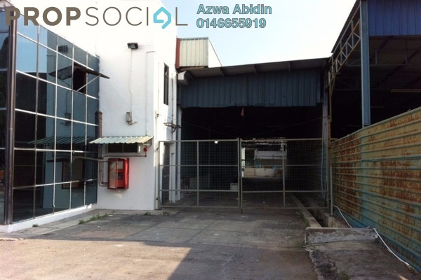 For Sale Factory at Taman Bentara, Telok Panglima Garang Leasehold Unfurnished 0R/0B 5m