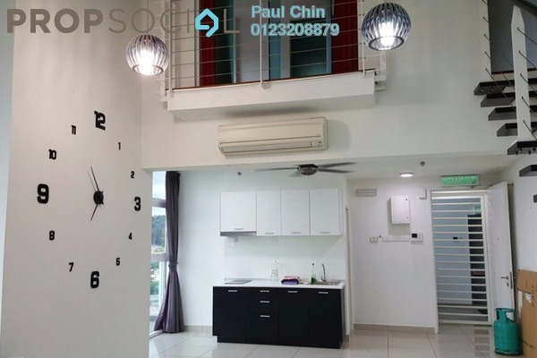 For Sale Duplex at The Scott Garden, Old Klang Road Freehold Semi Furnished 2R/2B 700k