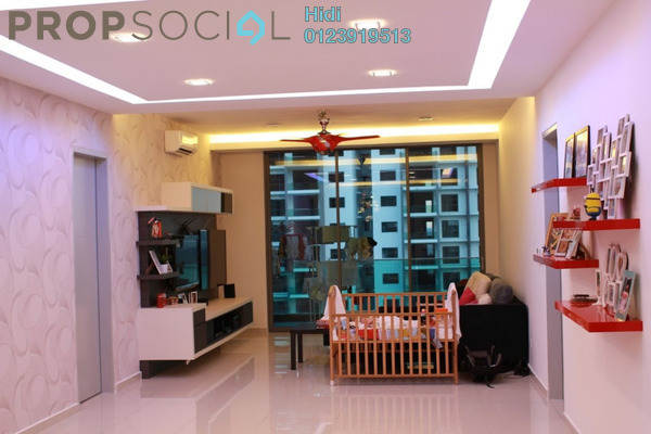For Rent Condominium at X2 Residency, Puchong Leasehold Fully Furnished 4R/5B 2.7k
