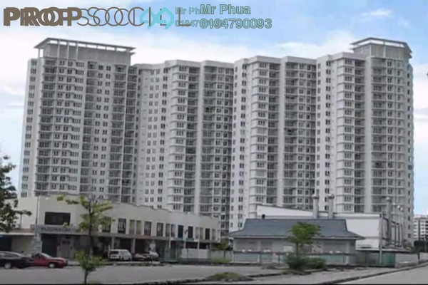 For Rent Condominium at The Spring, Jelutong Leasehold Fully Furnished 3R/2B 1.7k