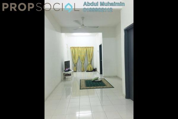For Rent Apartment at Green Villa Apartment, Kajang Freehold Semi Furnished 3R/2B 1k