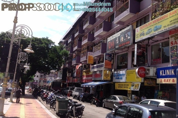 For Rent Office at Little India, Brickfields Freehold Semi Furnished 0R/1B 6.6k