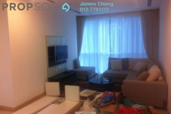 For Rent SoHo/Studio at Binjai 8, KLCC Freehold Semi Furnished 1R/1B 3k