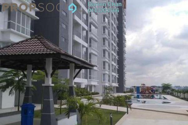 For Rent Condominium at 7 Tree Seven Residence, Bandar Sungai Long Freehold Semi Furnished 4R/2B 1.5k