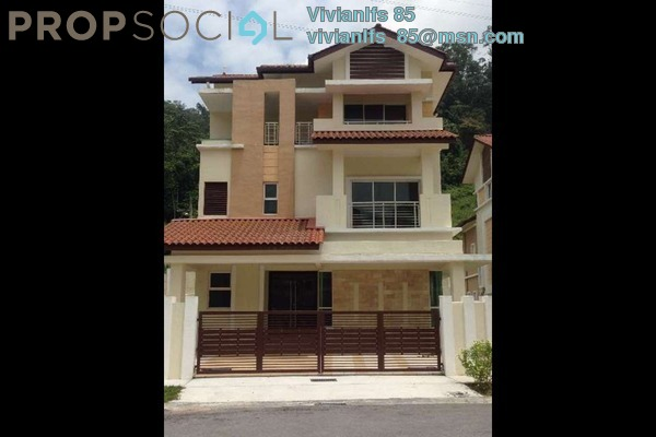 For Rent Bungalow at Idaman Hills, Selayang Freehold Semi Furnished 8R/7B 4.2k