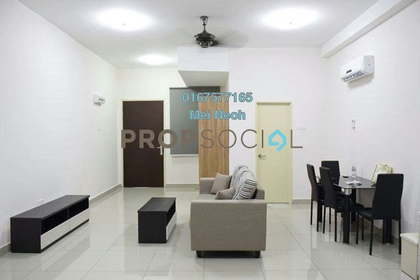 For Rent Apartment at Palazio, Tebrau Freehold Fully Furnished 0R/1B 1.1k