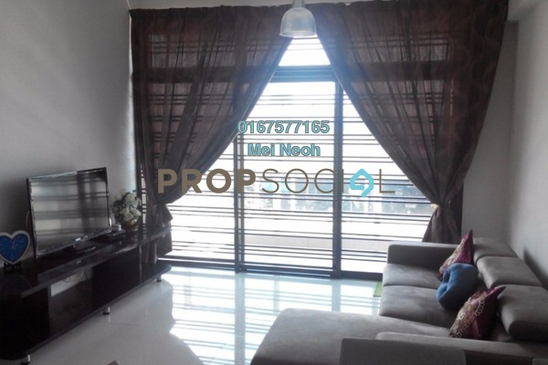 For Rent Apartment at Parc Regency, Johor Bahru Freehold Fully Furnished 1R/2B 1.8k
