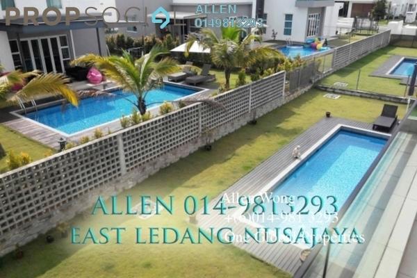For Sale Bungalow at East Ledang, Iskandar Puteri (Nusajaya) Freehold Semi Furnished 5R/5B 3.5m