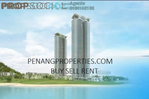 For Rent Condominium at One Tanjong, Tanjung Bungah Freehold Semi Furnished 4R/4B 7.5k