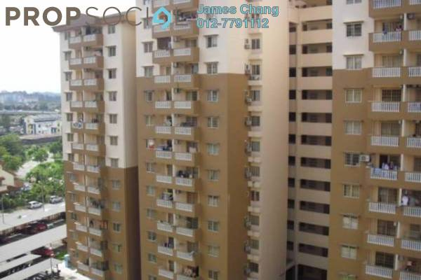 For Rent Condominium at Sri Lavender Apartment, Kajang Freehold Fully Furnished 3R/2B 1.6k