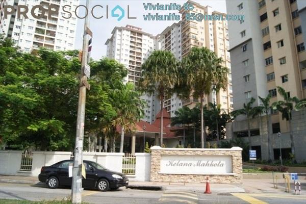 For Rent Condominium at Kelana Mahkota, Kelana Jaya Leasehold Fully Furnished 3R/2B 2.1k