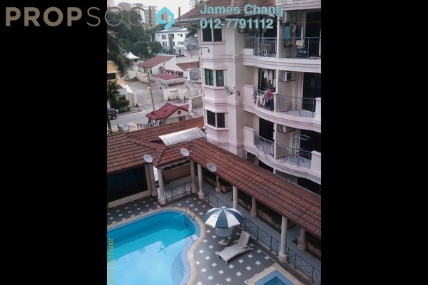 For Rent Condominium at Megan Ambassy, Ampang Hilir Freehold Semi Furnished 2R/2B 3k