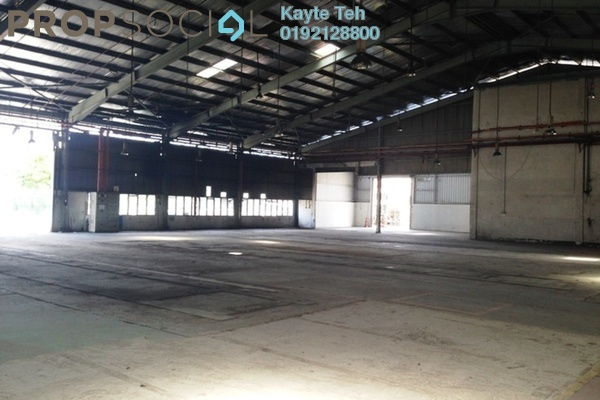 For Rent Factory at Bangi Industrial Estate, Bangi Freehold Unfurnished 0R/0B 58.3k
