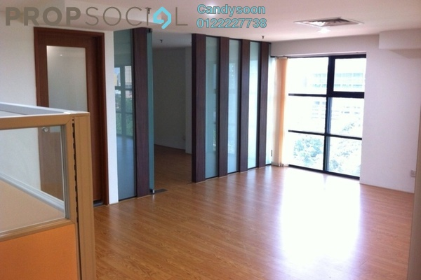 For Rent Office at Plaza 138, KLCC Freehold Semi Furnished 0R/0B 3.3k