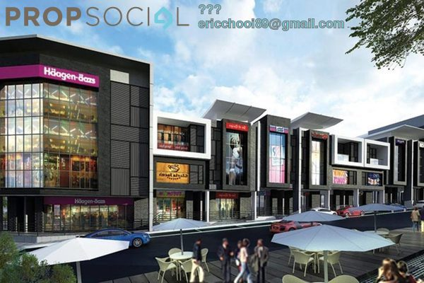 For Sale Shop at Taman Bukit Permai, Cheras Leasehold Unfurnished 0R/0B 2.49m