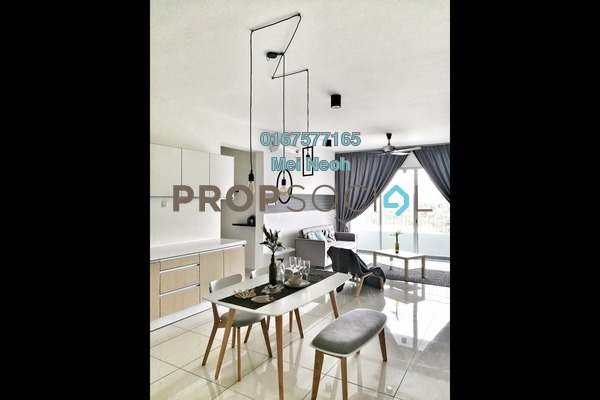 For Rent Condominium at Epic, Johor Bahru Freehold Fully Furnished 3R/2B 2.35k
