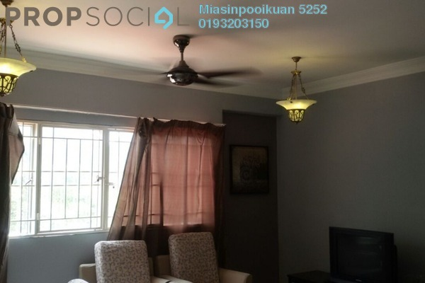 For Rent Apartment at Prima Tiara 1, Segambut Freehold Semi Furnished 3R/2B 1.4k