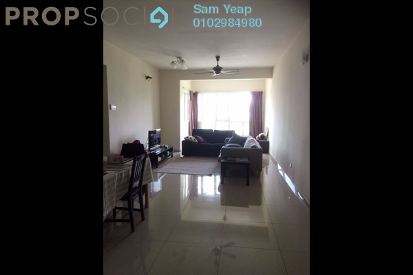 For Rent Condominium at 1Sentul, Sentul Freehold Semi Furnished 3R/2B 1.9k