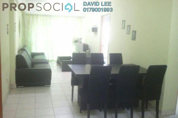For Rent Apartment at Pelangi Damansara, Bandar Utama Leasehold Fully Furnished 3R/2B 1.2k