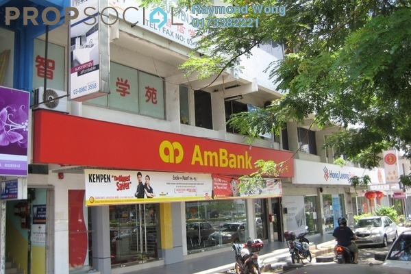 For Rent Office at Taman Maluri, Cheras Leasehold Unfurnished 0R/2B 1k