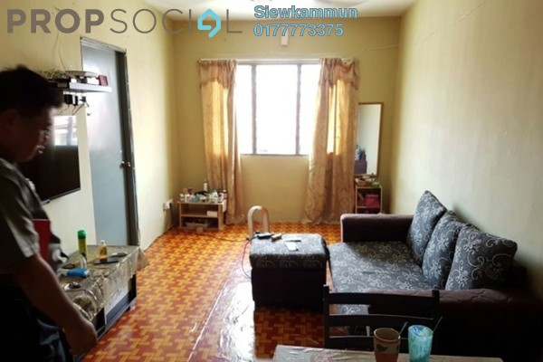 For Sale Apartment at Idaman Apartment, Bukit Mertajam Freehold Semi Furnished 3R/2B 110k