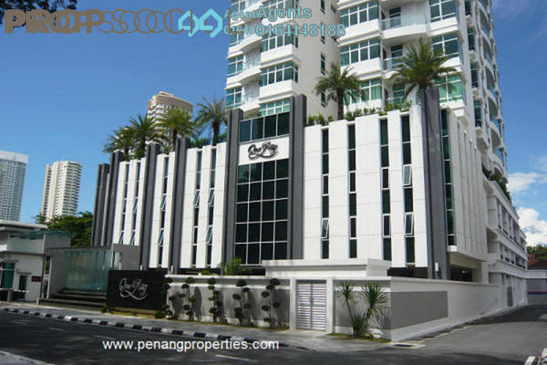 For Sale Condominium at H Residence, Gurney Drive Freehold Semi Furnished 5R/4B 2.8m