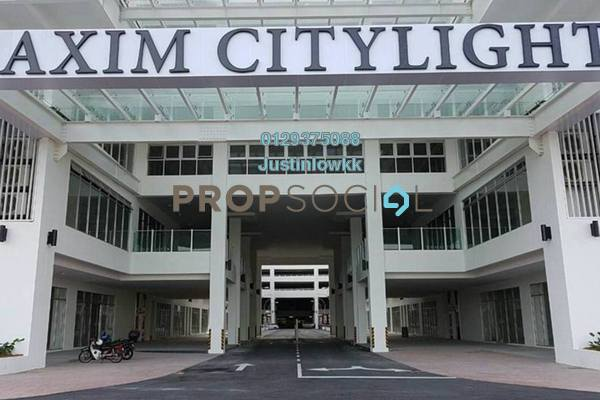 For Rent Condominium at Maxim Citilights, Sentul Leasehold Unfurnished 3R/2B 1.4k