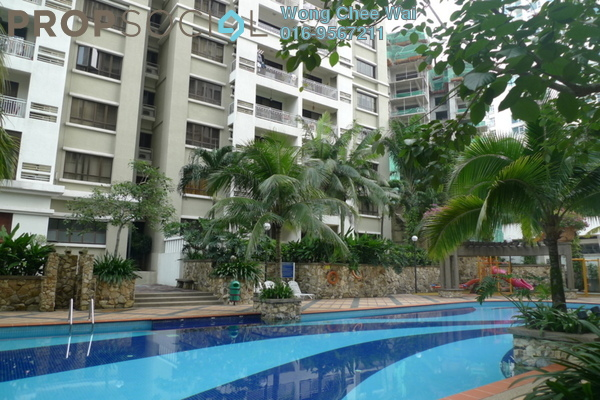 For Rent Condominium at Casa Kiara I, Mont Kiara Freehold Fully Furnished 3R/2B 2.7k