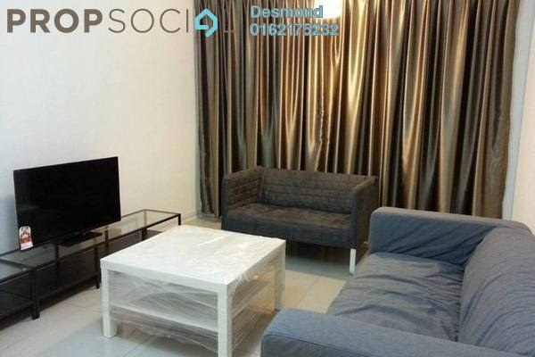 For Rent Condominium at Kiara Residence, Bukit Jalil Leasehold Fully Furnished 3R/2B 2.1k