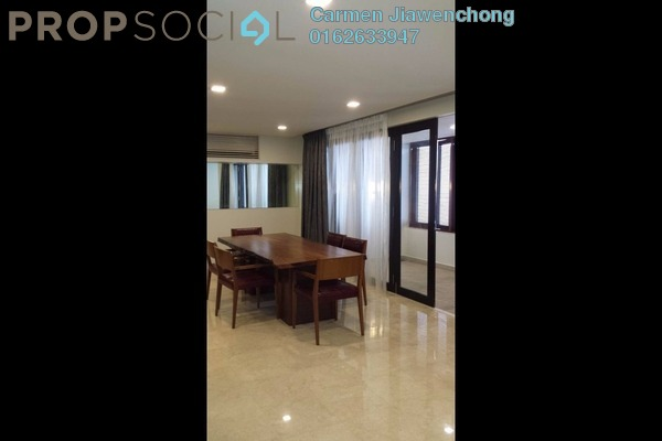 For Rent Condominium at The CapSquare Residences, Dang Wangi Freehold Fully Furnished 4R/4B 6k