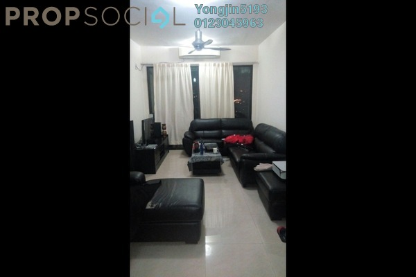 For Rent Apartment at Rivercity, Sentul Freehold Fully Furnished 3R/2B 2.2k