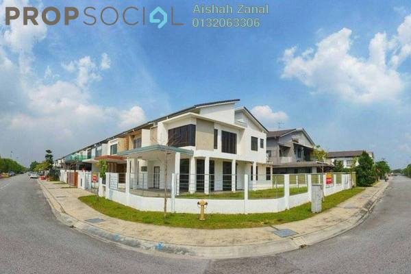 For Sale Terrace at Fuego, Bandar Bukit Raja Freehold Semi Furnished 6R/6B 1.25m