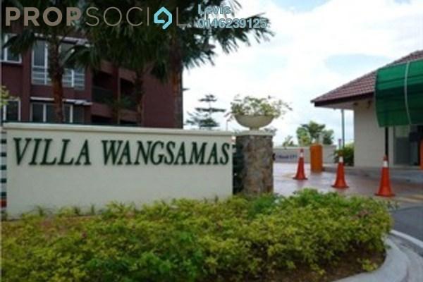 For Rent Condominium at Villa Wangsamas, Wangsa Maju Freehold Fully Furnished 4R/2B 1.8k