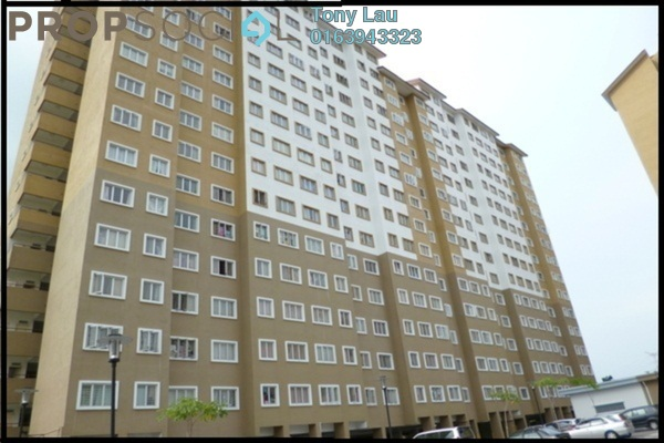 For Rent Apartment at Putra Suria Residence, Bandar Sri Permaisuri Leasehold Semi Furnished 3R/2B 1.25k