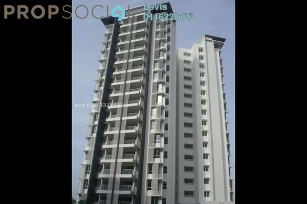 For Rent Condominium at Endah Villa, Sri Petaling Leasehold Fully Furnished 3R/2B 1.8k