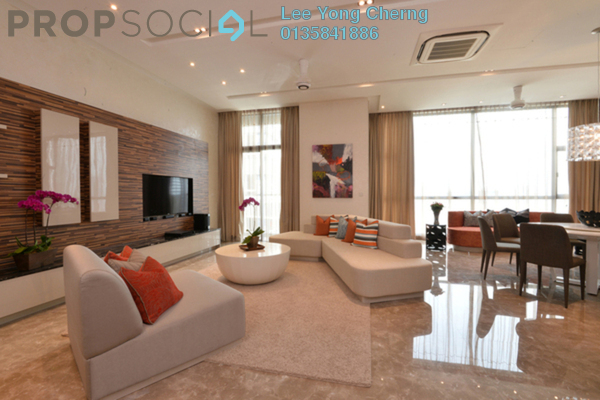 For Rent Condominium at Laman Ceylon, Bukit Ceylon Freehold Fully Furnished 2R/2B 3.8k