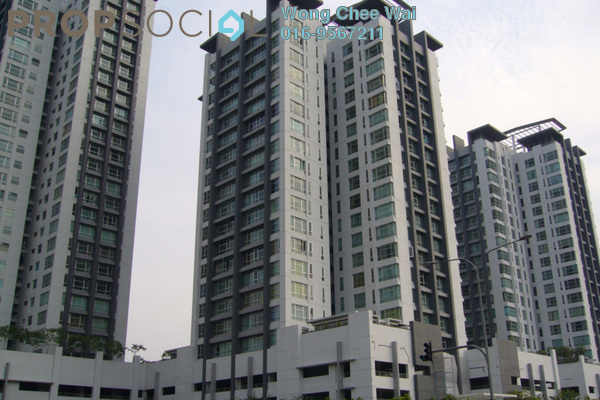 For Rent Condominium at The Saffron, Sentul Freehold Fully Furnished 3R/2B 2.1千