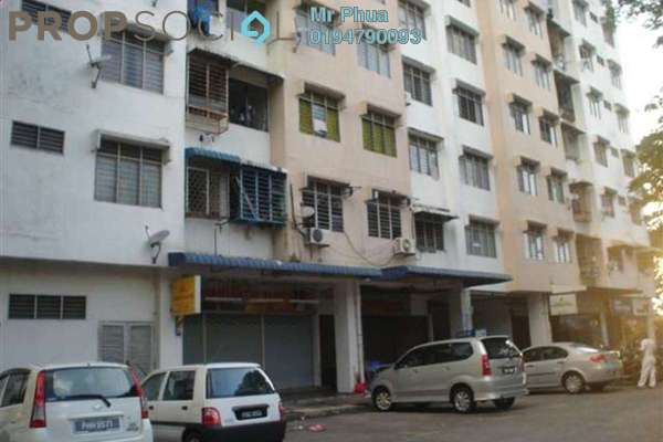 For Rent Apartment at Taman Bukit Jambul, Bukit Jambul Freehold Fully Furnished 3R/2B 1.3k