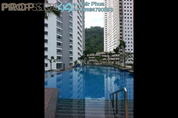 For Rent Condominium at The Peak Residences, Tanjung Tokong Freehold Fully Furnished 3R/2B 1.7k