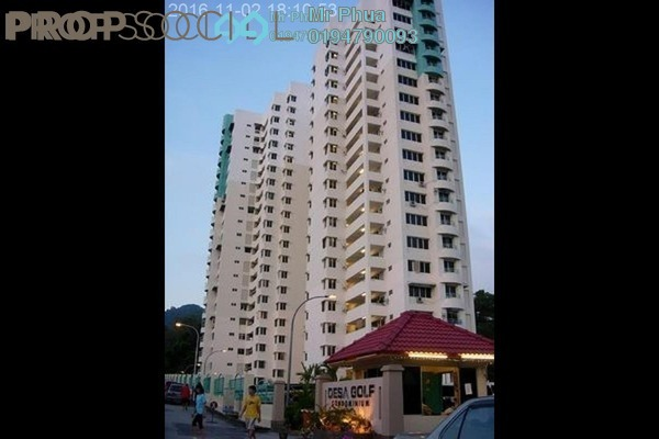 For Rent Condominium at Desa Golf, Bukit Jambul Freehold Fully Furnished 3R/2B 1.3k